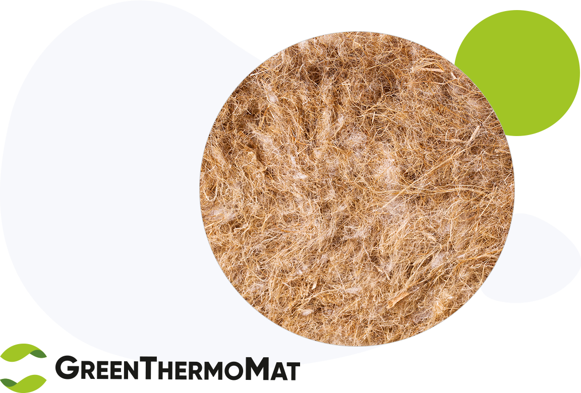 Green Thermo Mat insulation